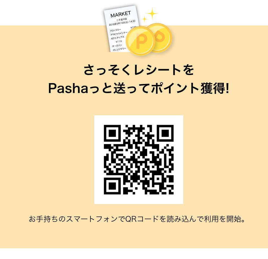 RakutenPashaのQRコード